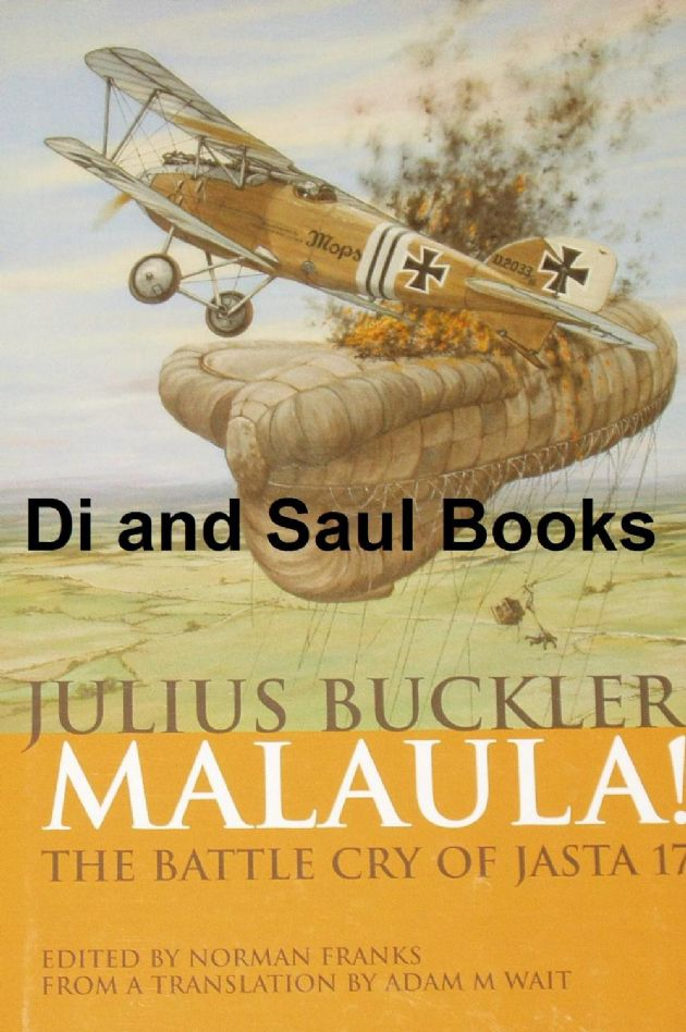Malaula! The Battle Cry of Jasta 17, by Julius Buckler